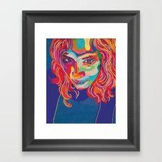 self portrait n1 Framed Art Print