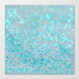 Sweetly Aqua Canvas Print