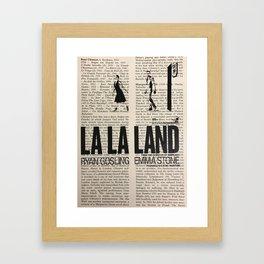 La La Land 1 Framed Art Print