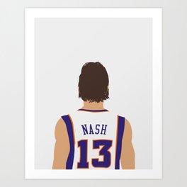 Steve Nash Art Print