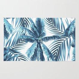 South Pacific palms II - oceanic Rug