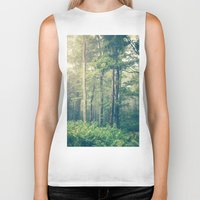 mountain Biker Tanks featuring Inner Peace by Olivia Joy StClaire