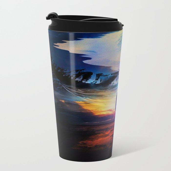 Edge Of Time Metal Travel Mug
