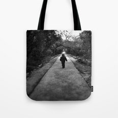 Narrow Road Tote Bag