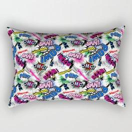 Pop Art Boom!!! Rectangular Pillow