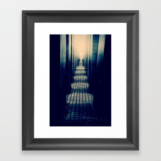 Slabs Framed Art Print
