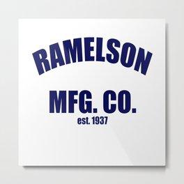UJ Ramelson Co. Vintage Metal Print