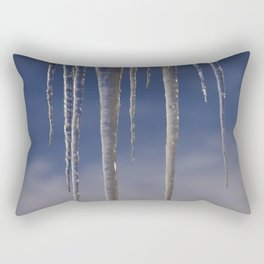 Ice in the air Rectangular Pillow