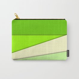 GREEN PAPER SHEETS Carry-All Pouch