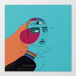 Fashion Angst Canvas Print