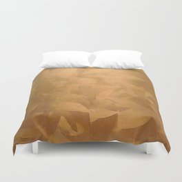 Beautiful Copper Metal - Corporate Art - Hospitality Art - Modern Art Duvet Cover