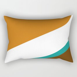 Caramel Tide Rectangular Pillow