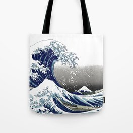 The Great Waves by Hokusai Tote Bag