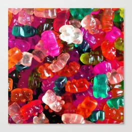 Yummy Gummies Canvas Print