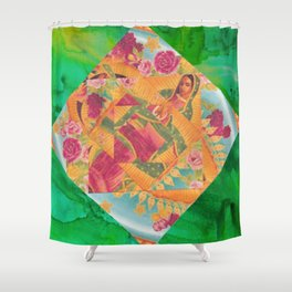 Our Lady Of Guadalupe II Shower Curtain