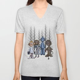 Dorothy and Friends  Unisex V-Neck