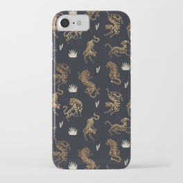 Golden Tigers iPhone Case
