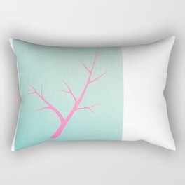 Branched in Pastel Rectangular Pillow