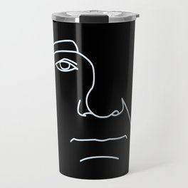 Bill Murray - Black and White Travel Mug