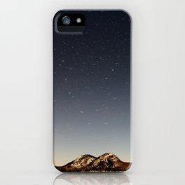 Jordan Pond Star Trail iPhone Case