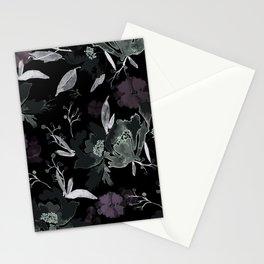 Vintage Floral Print 4 Stationery Cards