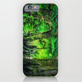 Mossy Giants iPhone Case
