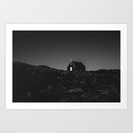 Iceland chuch Art Print