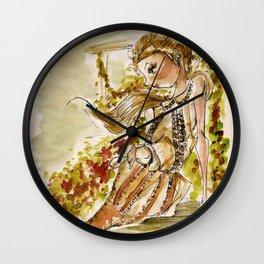 Mon Jardin-(Bora Aksu) Wall Clock