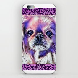 Peak in purple iPhone Skin