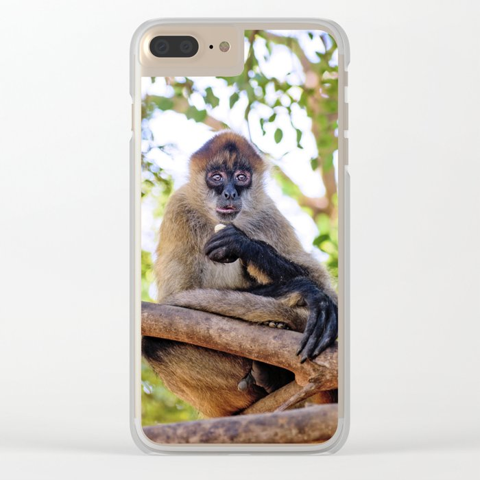 Thinker Clear iPhone Case