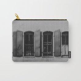 Black and White Contemporary Photography Carry-All Pouch