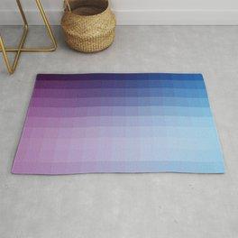 Lumen, Blue and Purple Glow Rug