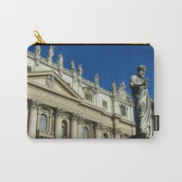 St. Peter's Basilica in Rome Carry-All Pouch