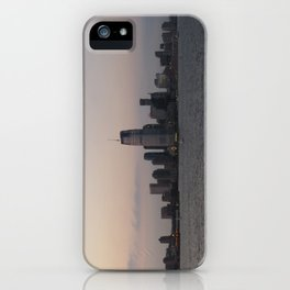 View of Colgate Center from New York Harbor iPhone Case