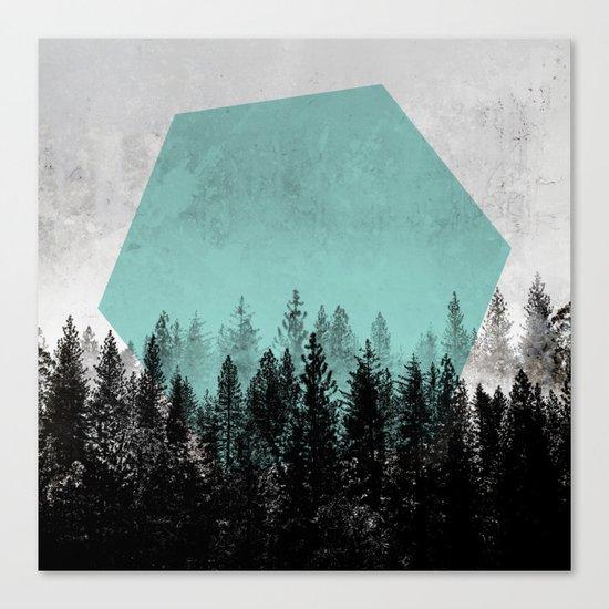 Woods 3 Canvas Print