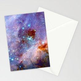 Space nebula Stationery Cards