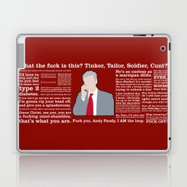 The Thick of It - Malcolm Tucker Laptop & iPad Skin