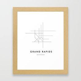 Grand Rapids, MI Framed Art Print