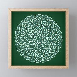 Celtic knot Framed Mini Art Print