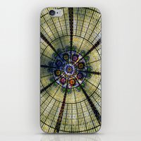 kaleidoscope iPhone & iPod Skins featuring Kaleidoscope   by Laura George