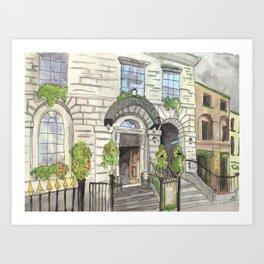 Merchant's Arch, Dublin Art Print