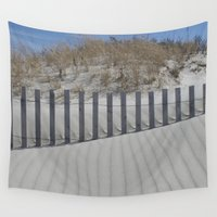 dune Wall Tapestries featuring sand dune ripples by Janice Sullivan