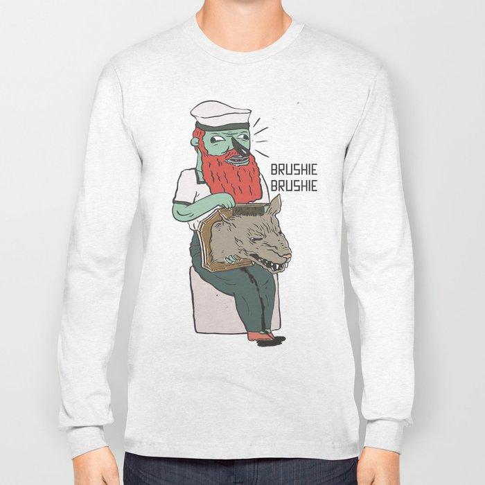 brushie brushie Long Sleeve T-shirt