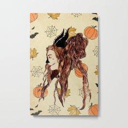 Happy Halloween (Maleficent ) Metal Print
