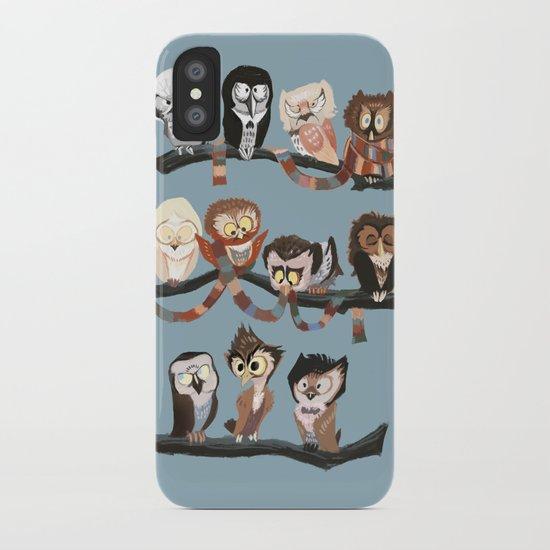 Doctor Hoo - Painted Version iPhone Case