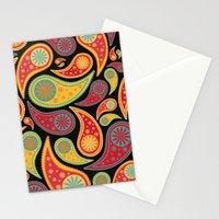 Bohemian Paisley  Stationery Cards