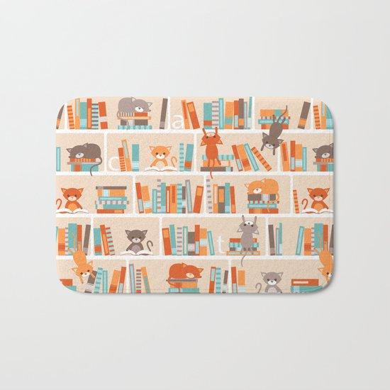 Library cats Bath Mat