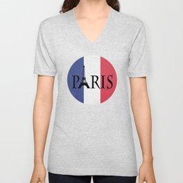 Grunge Paris Unisex V-Neck