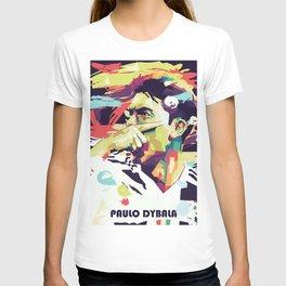 Paulo Dybala on WPAP Pop Art T-shirt