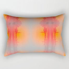Florence Skyline in Warm Tones Rectangular Pillow